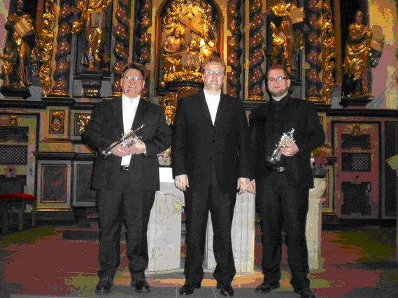 Von links: Michael Regin, Jens Koch, Martin J. Fischer